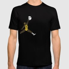 air teen wolf Black Mens Fitted Tee SMALL