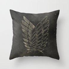 Attack on Titan  Throw Pillow