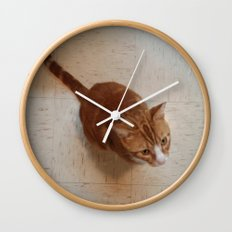 MORRIS ON THE WALL Wall Clock