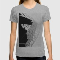 The Gherkin Womens Fitted Tee Athletic Grey SMALL