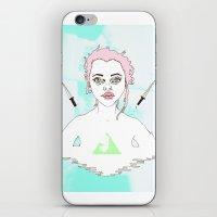 Acid Girl iPhone & iPod Skin