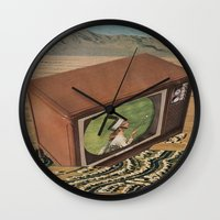 Anti-Beneficent Antics Wall Clock