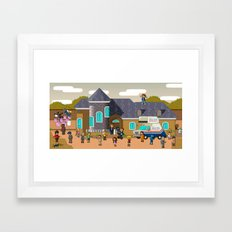Super Arrested Development  Framed Art Print
