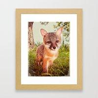 So Foxy! Framed Art Print