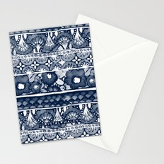 Boho Indigo Stationery Cards