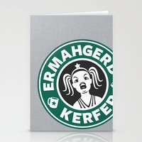 Ermahgerd, Kerfer! Stationery Cards