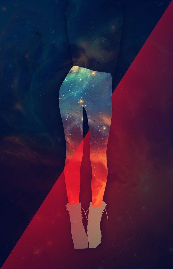 Cosmic Body Art Print