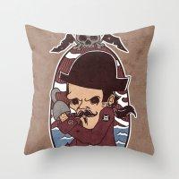 Pirate Throw Pillow