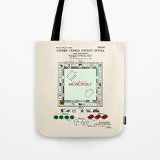 Monopoly Patent Tote Bag