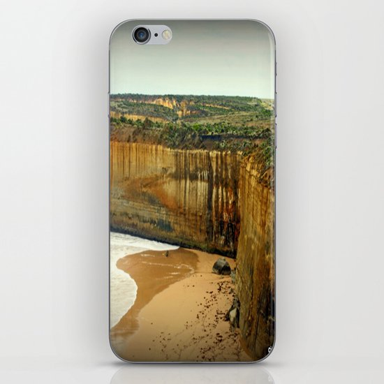 Gigantic limestone Cliffs iPhone & iPod Skin