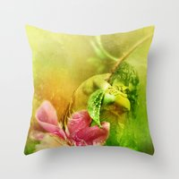 A Kiss Before Sunset Throw Pillow