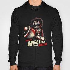 HELLO! HELLO! (black) Hoody