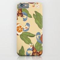 Botanical Oranges iPhone 6 Slim Case