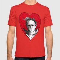 Micheal Myers (All Heart) Mens Fitted Tee Red SMALL