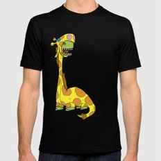 Bronto-raffe Mens Fitted Tee Black SMALL