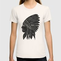 Chief / Black Edition Womens Fitted Tee Natural SMALL