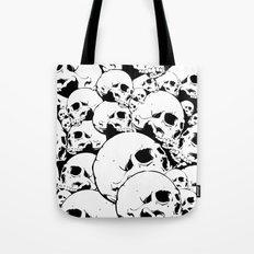 Skull Pile 2 Tote Bag