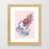 Spirit Animal - Wolf Framed Art Print