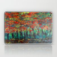 Forest Abstract Laptop & iPad Skin