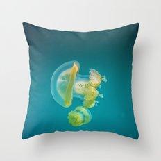 Jellyfish Dance Throw Pillow