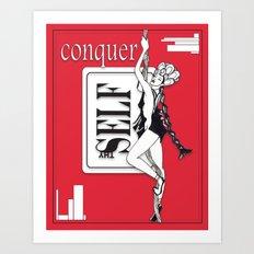 Conquer Thyself Art Print