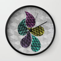 Drop Wall Clock