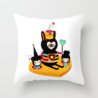 There's Something About … Throw Pillow