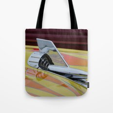 Rocket with Pinstripes Tote Bag