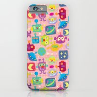 iPhone & iPod Case featuring sweet bots by Jill Howarth