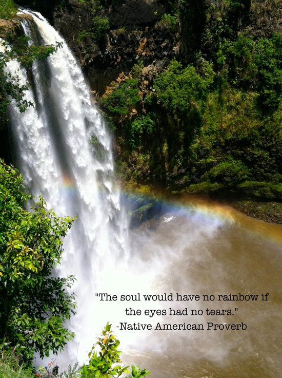 The Soul and the Rainbow Art Print