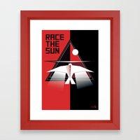 Race the Sun OST Framed Art Print