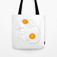 Eggs for breakfast Tote Bag