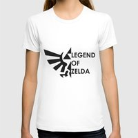 zelda T-shirts featuring Zelda  by Clair Mtz