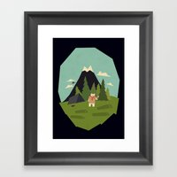 Shocking Discovery Framed Art Print