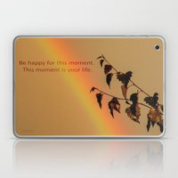 Rainbow and copper leaves Laptop & iPad Skin