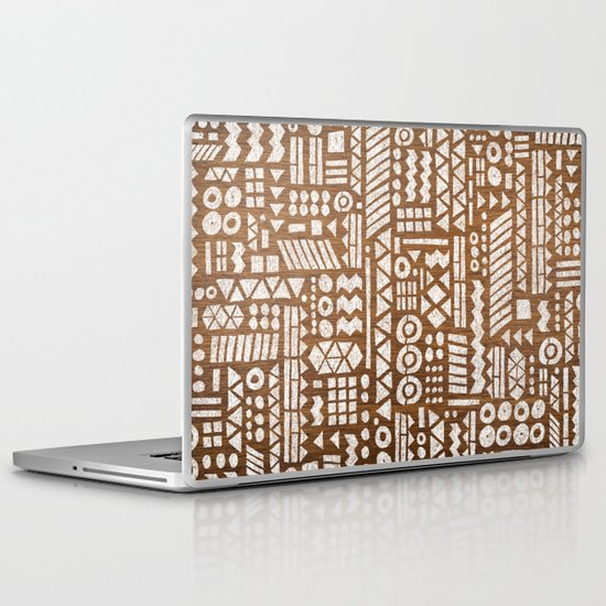 Northwoods Pattern. Laptop & iPad Skin
