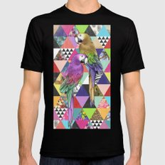 A bit of tropical geometry SMALL Black Mens Fitted Tee