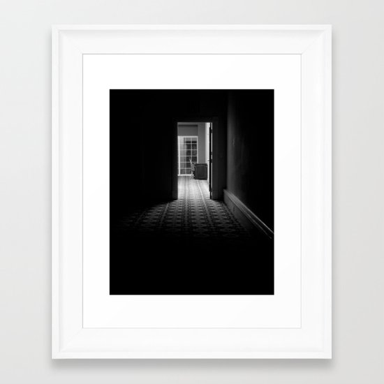 Dark Passage Framed Art Print