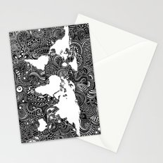 World Inverted Stationery Cards