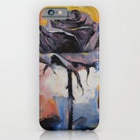 iPhone & iPod Case featuring Black Rose by Michael Creese