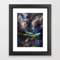 Night II - Dreamwalker Framed Art Print