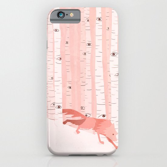 Winter is coming (Aspen) iPhone & iPod Case