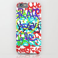 Graffiti Is Life iPhone 6 Slim Case
