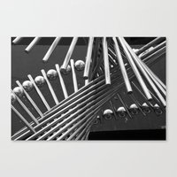 Iron Confusing Canvas Print
