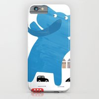 iPhone & iPod Case featuring an enormous elephant enjoying england :) by Lydia Coventry
