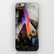 Meet me in my smooth city iPhone & iPod Skin