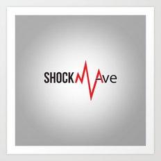 Shockwave Logo Art Print