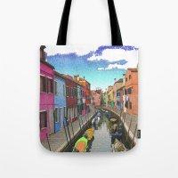Village Colors Tote Bag