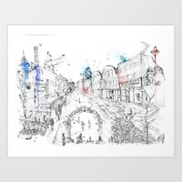 Brick Lane Art Print