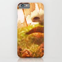 iPhone & iPod Case featuring In The Woods They Thrive by Bezmo Designs